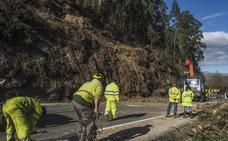 Cantabria ejecuta 44 obras de urgencia para luchar contra los argayos