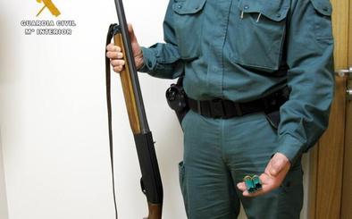 La Guardia Civil sorprende a un furtivo tras disparar a un corzo en Villabáñez