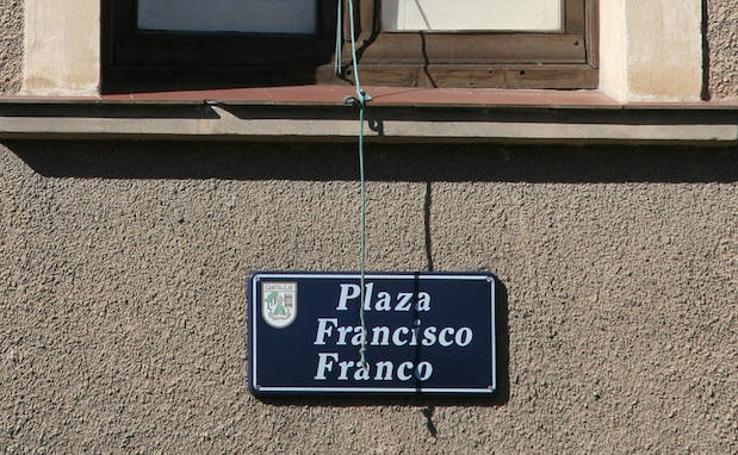 Los vestigios del franquismo en las calles españolas