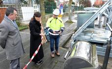 Dos millones de euros para renovar los contenedores soterrados en Valdenoja, Cueto y La Pereda
