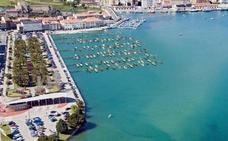 El puerto deportivo de San Vicente, más cerca