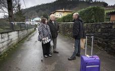Arenas de Iguña recibe este sábado al primer afectado por el argayo de San Mateo