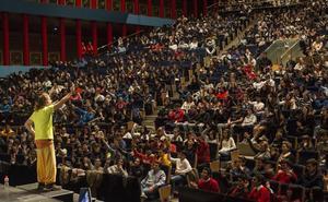 Cerca de 1.600 adolescentes cántabros participarán el jueves en II Congreso de Valores