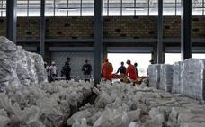 La ayuda humanitaria de EE UU llega a la frontera de Colombia con Venezuela