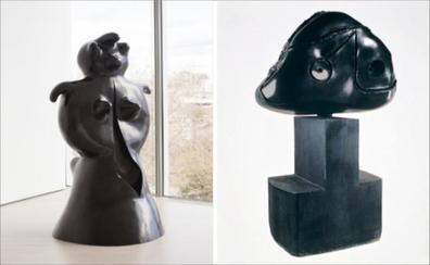 El Ayuntamiento prepara la ubicación de dos obras de Miró en los Jardines de Pereda