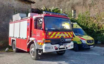 El 112 establece un retén en Selores para dar cobertura a las emergencias en Cabuérniga