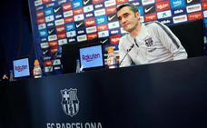 Valverde: «Messi, si está bien, jugará»