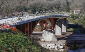El puente de Golbardo, a falta de «remates»
