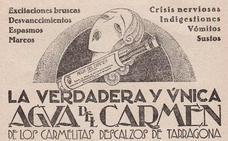 Agua del Carmen, el licor que se hizo medicamento