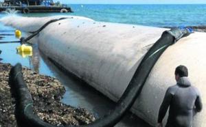 La tercera vía del PSOE para La Magdalena: bolsas de arena