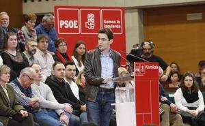 Pedro Casares asegura que es «el momento del cambio» en Santander