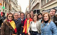 Buruaga y el PP de Cantabria, también en la Plaza de Colón