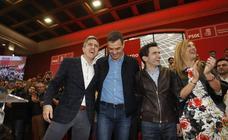 Pedro Sánchez presenta a Zuloaga y Casares como candidatos en Cantabria y Santander