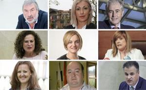 Los diputados que tendrían que elegir entre el escaño o el Ayuntamiento