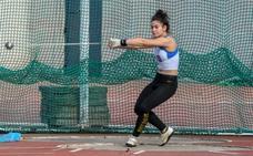 Izaguirre logra batir su propio récord regional sub-18 de lanzamiento de martillo