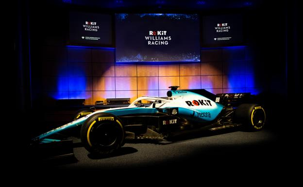 Coche de Williams para el Mundial 2019./RoKit Williams Racing