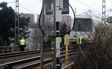 Muere un hombre arrollado por el tren en Nueva Montaña