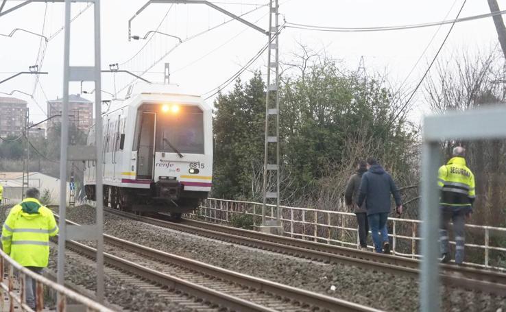 Operativo por el atropello mortal en las vías del tren de Nueva Montaña