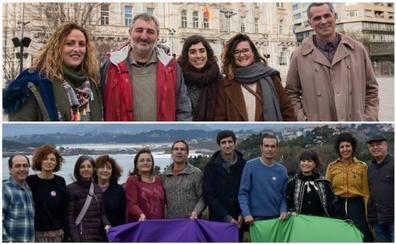 IU y Equo presentan las listas para concurrir a las primarias de la confluencia con Podemos