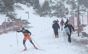 Cambios en el circuito de esquí del Triatlón Blanco de Reinosa, que se disputa este sábado