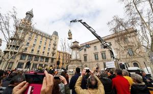 Revilla reclama de nuevo la estatua del Marqués retirada en Barcelona