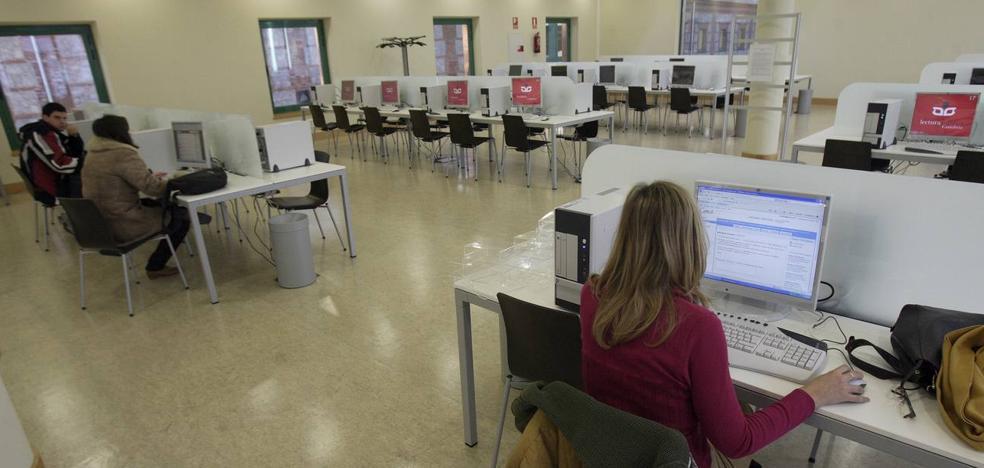 Los ordenadores de la Biblioteca Central volverán a funcionar «en breve»