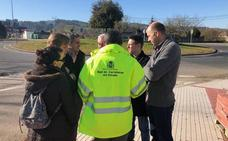 Anuncian la próxima licitación de un itinerario ciclista seguro entre Reocín y Cabezón de la Sal