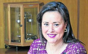 La farmacéutica Marta Fernández-Teijeiro, candidata del PP a la Alcaldía de Torrelavega