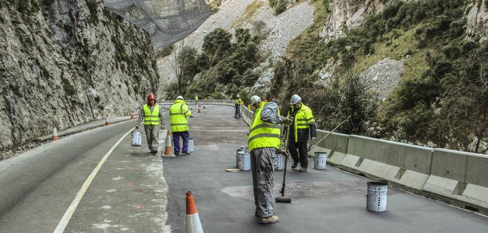 La obra del Desfiladero de La Hermida se retrasa por el modificado de una parte del proyecto
