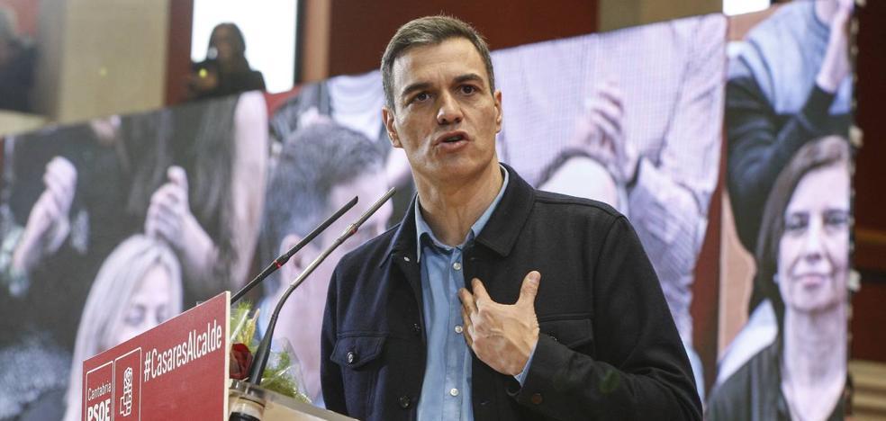 Pedro Sánchez envía su «apoyo y reconocimiento» a los profesionales que luchan contra el fuego en Cantabria