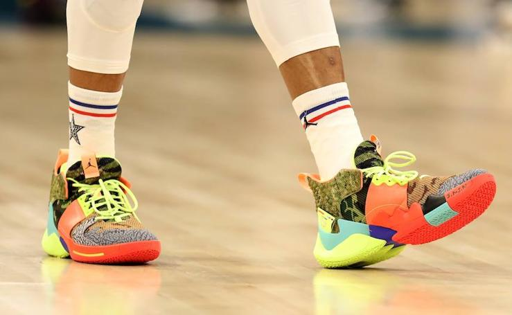 All Star 2019 de la NBA, las zapatillas más espectaculares