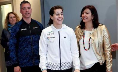 Carolina Marín: «Volveré cuando sienta que estoy al 200 por 100»