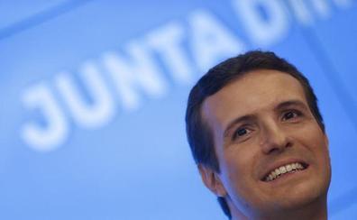 Casado pide concentrar en el PP el voto del Senado para poder aplicar el 155