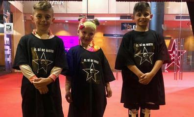 Tres pequeños bailarines de Los Corrales triunfan en 'Got Talent'