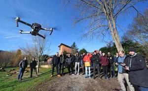 Los drones vuelan en el IES Foramontanos