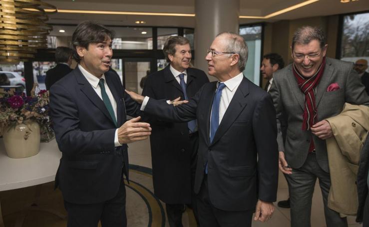 Jaime González, en el Foro Económico de El Diario Montañés