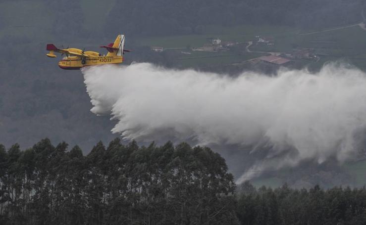 Cantabria apaga los últimos incendios tras seis días trágicos