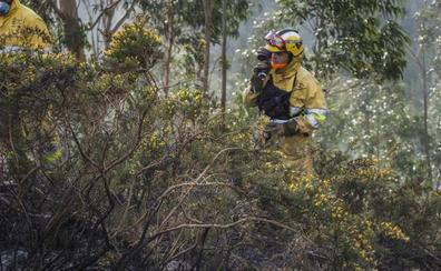 Cantabria vive una jornada «tranquila», pero el riesgo de incendios se mantiene