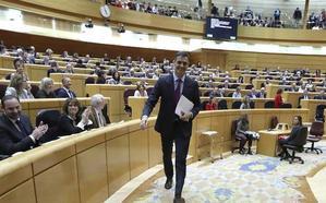 Estrenan escaño once nuevos senadores, entre ellos el primero de Vox
