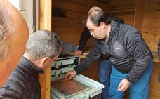 Pesués estrena una estación para la incubación de truchas y salmones