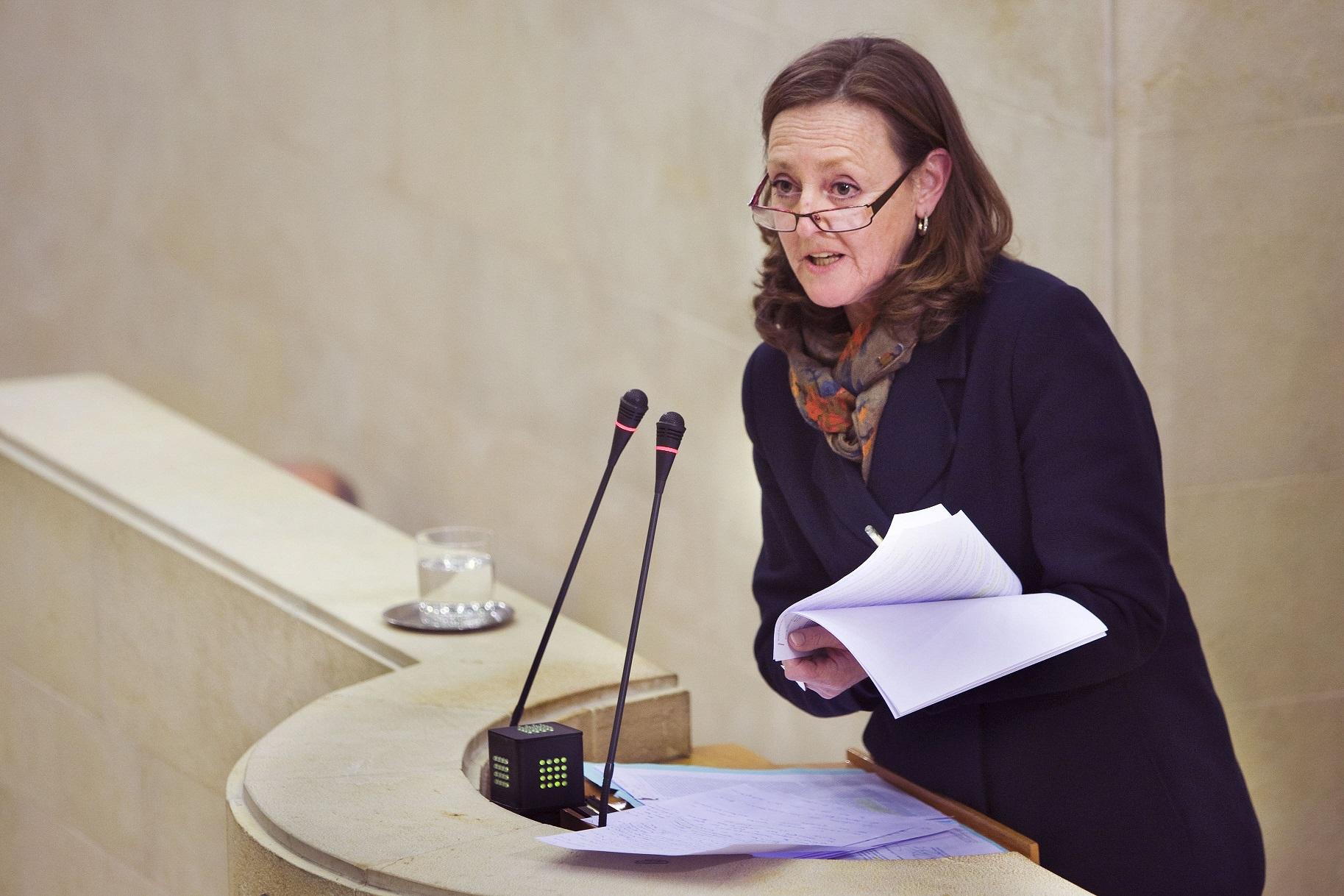 La diputada Mercedes Toribio pone su cargo a disposición del PP tras quedar fuera de las listas electorales