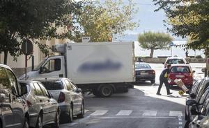 Los repartidores no encuentran sitio en Santander
