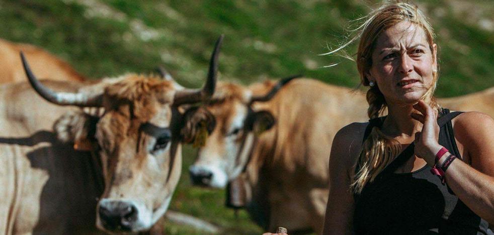 Sin vacas no hay paraíso para la ganadera cántabra Marta García