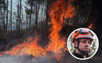 «Soy inocente», dice el jefe de voluntarios de Ramales detenido por provocar un incendio