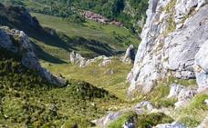 Ruta desde Tielve a la cima de Peña Crimienda, a casi 1.300 metros de altitud