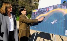 La alcaldesa critica al Gobierno por «querer que los santanderinos no tengan playa»
