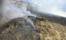 Sólo el incendio forestal de Yera permanece activo este viernes por la tarde en Cantabria