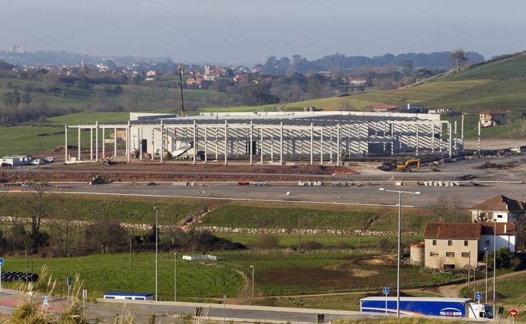 Centro logístico de Lupa en Orejo