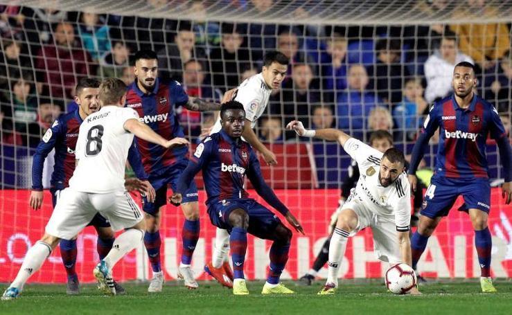 Las mejores imágenes del Levante-Real Madrid