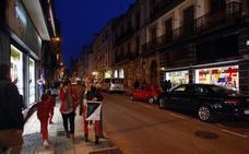Apagón en el comercio del centro de Torrelavega